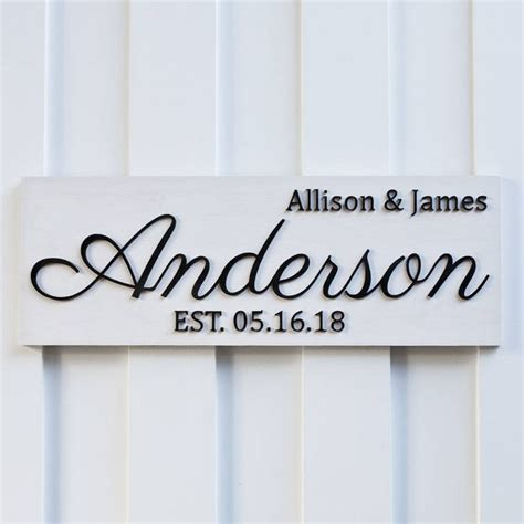 best 25 painted name signs best 25 family name signs ideas on wooden