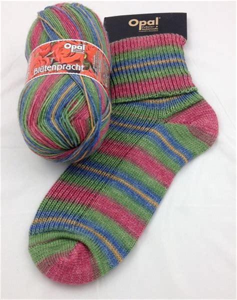 opal knitting yarn opal blutenpracht flower blossom 9117 sock