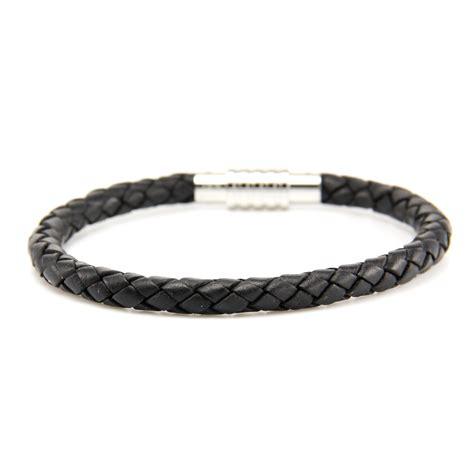 black bracelet aagaard mens jewelry leather bracelet black 1 landing