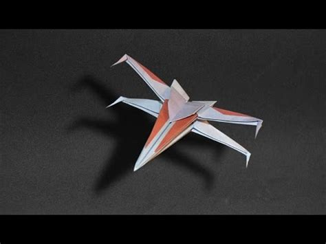 origami wars x wing origami spaceship wars x wing