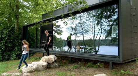 How To Build A Small Cabin In The Woods vipp shelter tiny prefab as precise industrial era