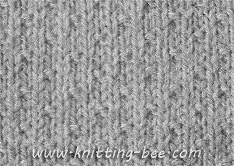 knitting the second row free dot stitch knitting pattern cast on of 4