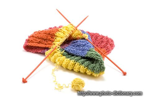 Knitting Photo Picture Definition At Photo Dictionary