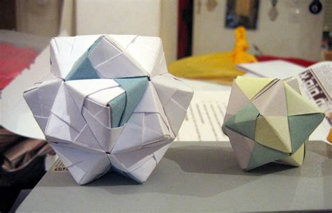 modular origami about sonobe