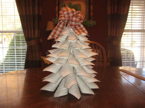 Paper Cone Tree Craft Go Green And Use Recycled