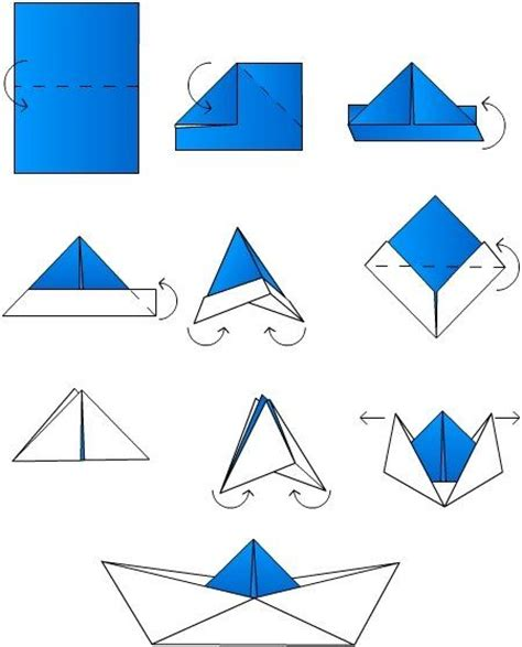 origami boat simple best 25 origami boat ideas that you will like on