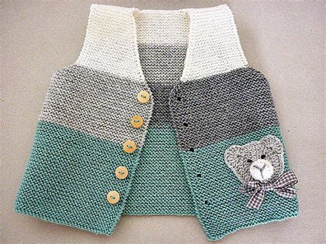 how to knit a baby sweater vest best 25 baby vest ideas on baby knits