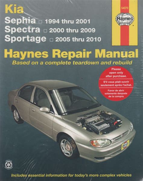 book repair manual 2009 kia rio user handbook kia sephia spectra 1994 2009 haynes repair manual sagin workshop car manuals repair books