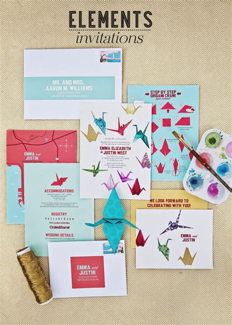 origami wedding invitations fabulous finds origami wedding invitations exquisite
