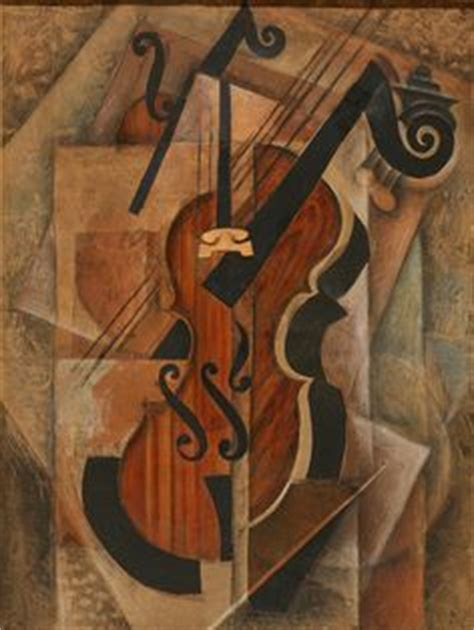 picasso paintings violin violin grapes 1912 painting in cubist style by pablo