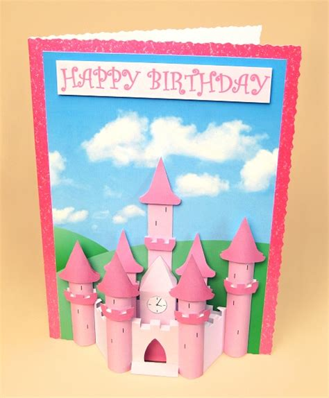how to make a card castle a4 card templates for 3d princess castle