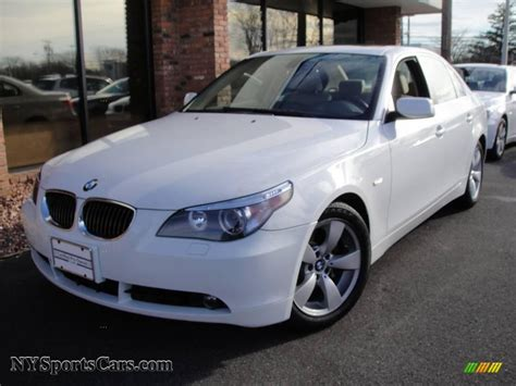 2007 Bmw 525i by 2007 Bmw 5 Series 525i Sedan In Alpine White K92457