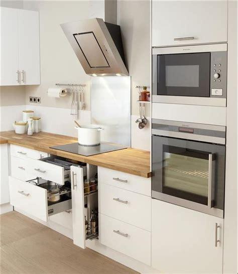 blanc et bois kitchen design cuisines modernes et moderne