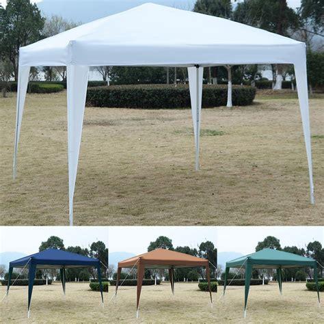 Canopy In by 10 X 10 Ez Pop Up Canopy Tent Gazebo