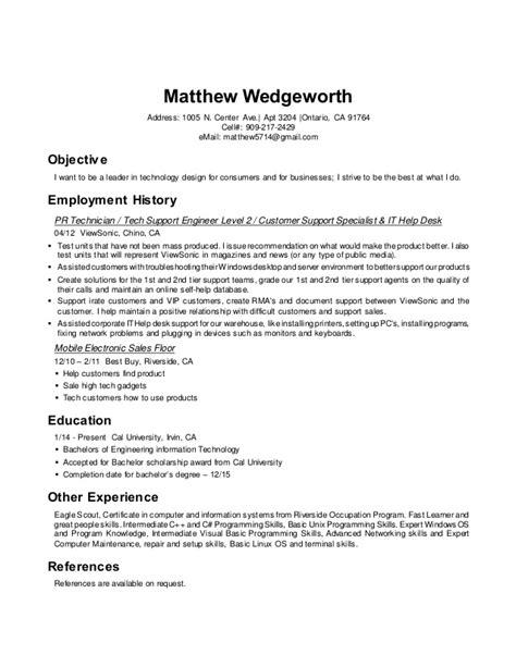eagle scout resume linkedin