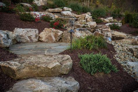 large landscaping boulders landscaping boulders hardscapes