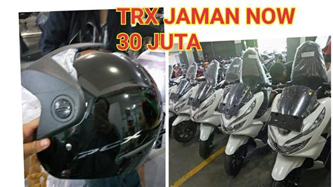 Pcx 2018 Unboxing unboxing helm new pcx 2018 indonesia