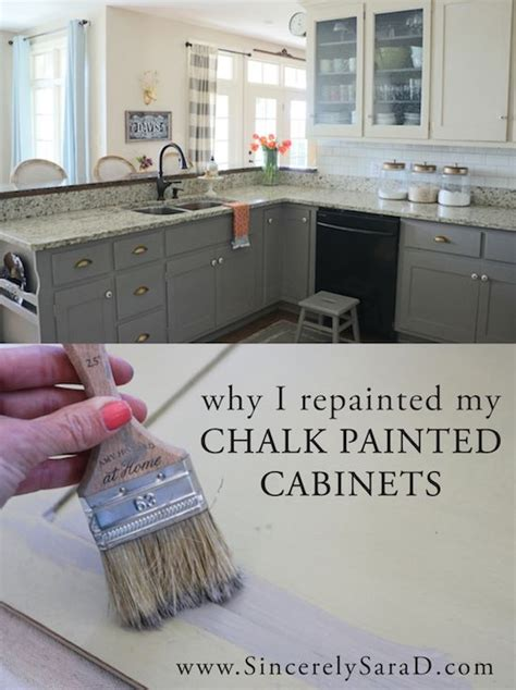chalk paint vs howard chalk paint why i repainted my chalk painted cabinets howard
