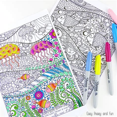 for for printable coloring pages for adults 15 free designs