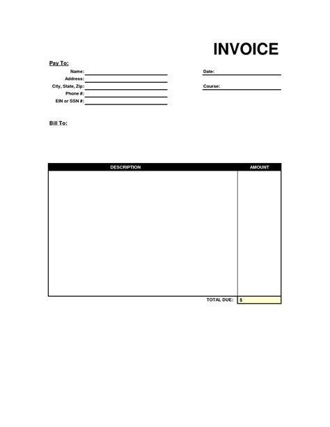 pdf in with pictures free free invoice format in excel word pdf templates