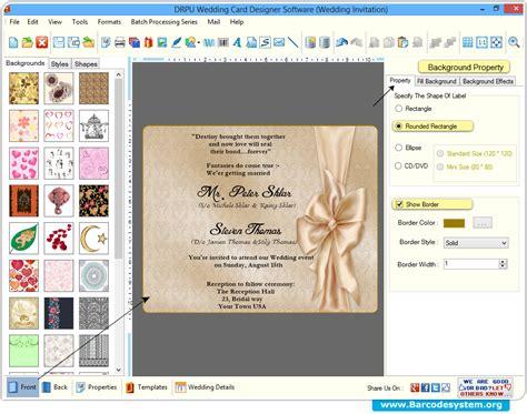 wedding card software wedding card designer software creates marriage invitation