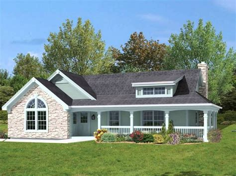 100 house plans with front and back porches 100