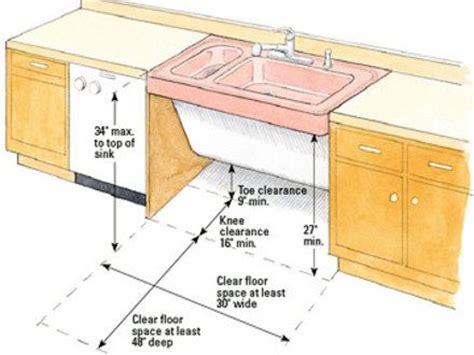 kitchen sink height kitchen sink height ada butler s pantry