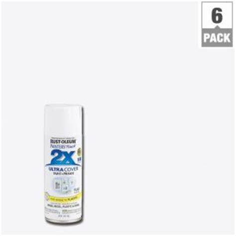 home depot spray paint white rust oleum painter s touch 2x 12 oz white flat general