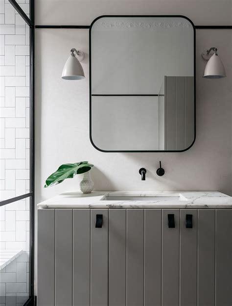 black bathroom mirror 1000 ideas about bathroom mirror cabinet on