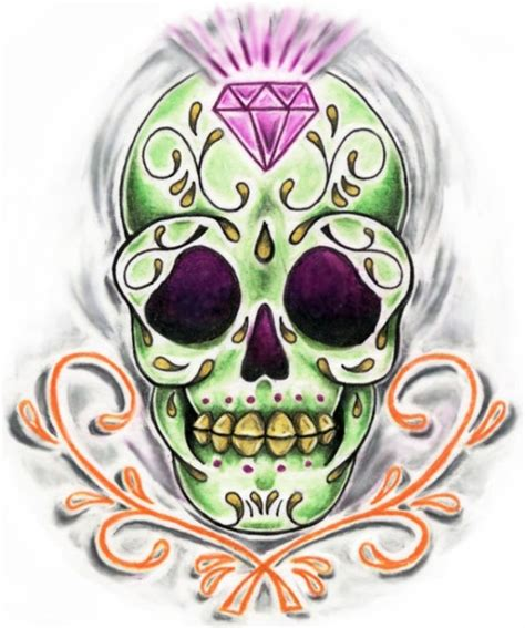 for sugar skull sugar skull tattoos