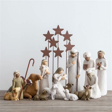 nativity set collection awe and willow tree nativity set dayspring