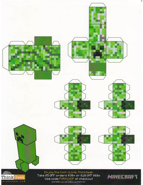 paper mind craft minecraft paper craft paper crafts ideas for