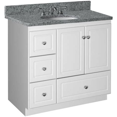 home depot bathroom vanity 36 home decorators collection albright 36 in vanity cabinet