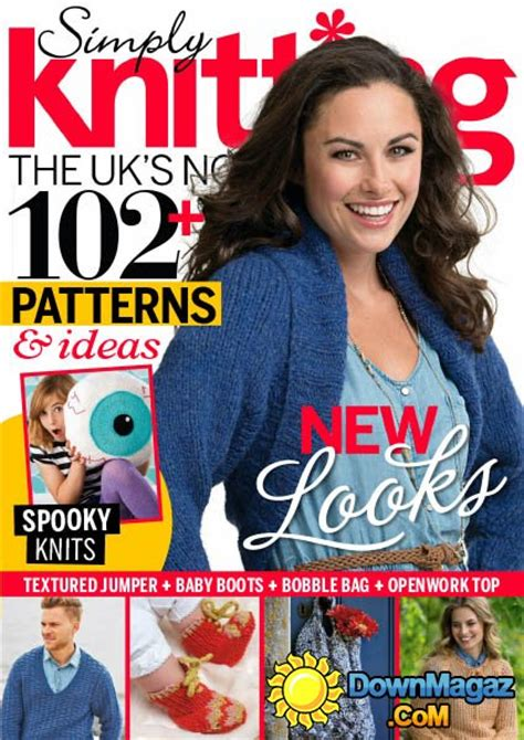 simply knitting simply knitting october 2014 187 pdf magazines