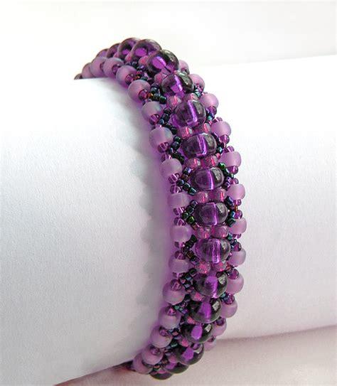 free beaded bracelet patterns beadsmagic july 2013