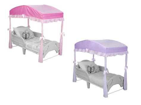 canopy bed for toddler delta children canopy for toddler bed pink ebay