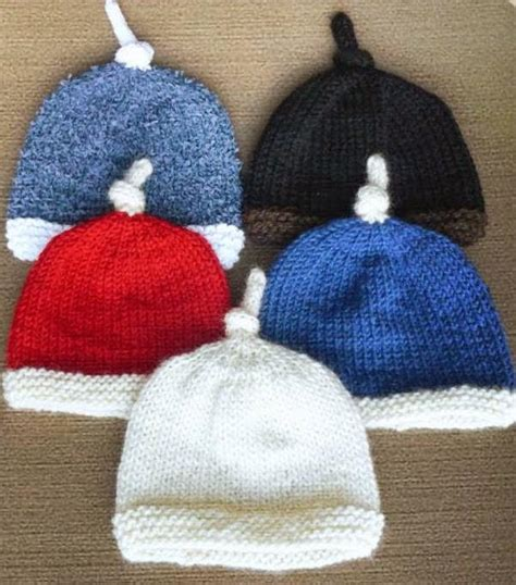 simple baby beanie knitting pattern antennae baby hat allfreeknitting