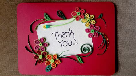 how to make beautiful cards paper quilling card how to make a beautiful greeting