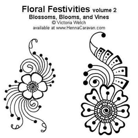 25 beautiful floral henna designs ideas on pinterest