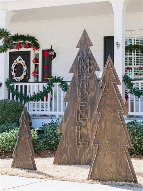 diy outdoor wooden decorations 50 best outdoor decorations for 2017