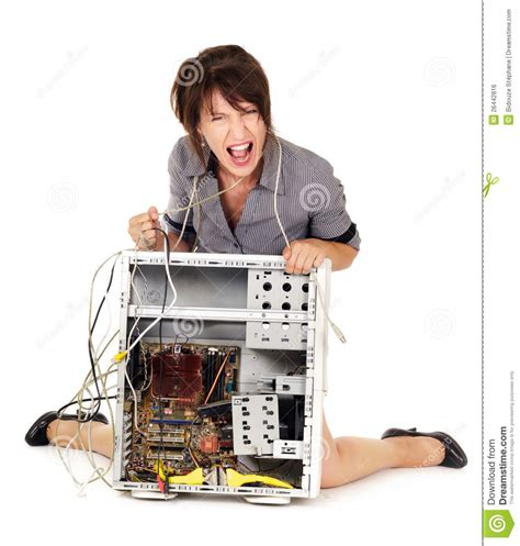 against computer rage against computer royalty free stock image image