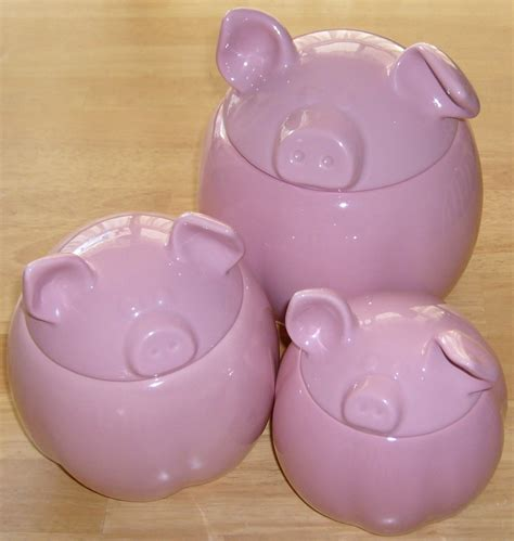 pig kitchen canisters pig kitchen canisters 28 images buy pig canister for