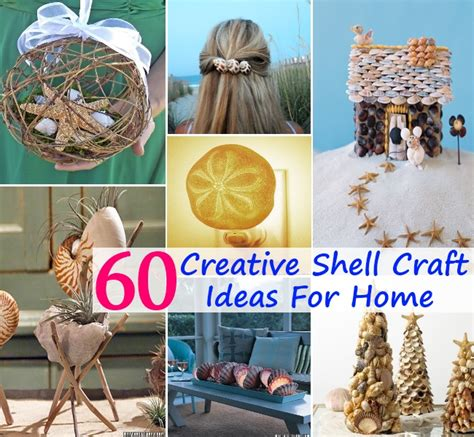 different craft ideas for 60 different and creative shell craft ideas to decorate