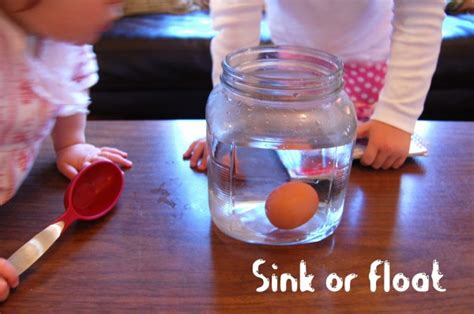 Egg Float Or Sink by Science Experiment The Floating Egg Tinkerlab