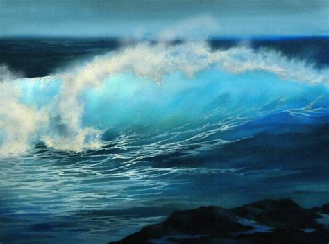 acrylic painting waves 17 best images about on acrylics