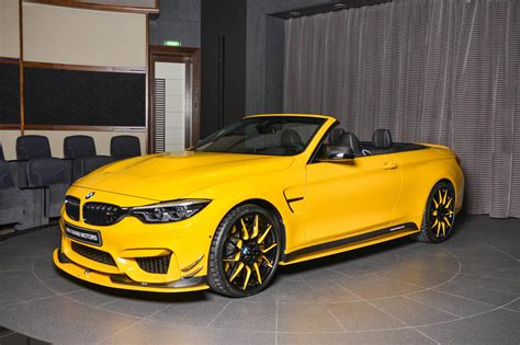M4 Bmw Convertible by Bmw M4 Convertible Is Speed Yellow Spotted In Dubai