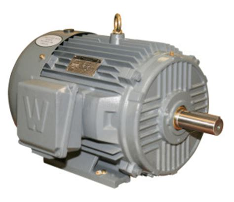 Worldwide Electric Motors by Worldwide Epic Plus Severe Duty Rigid Base Motor