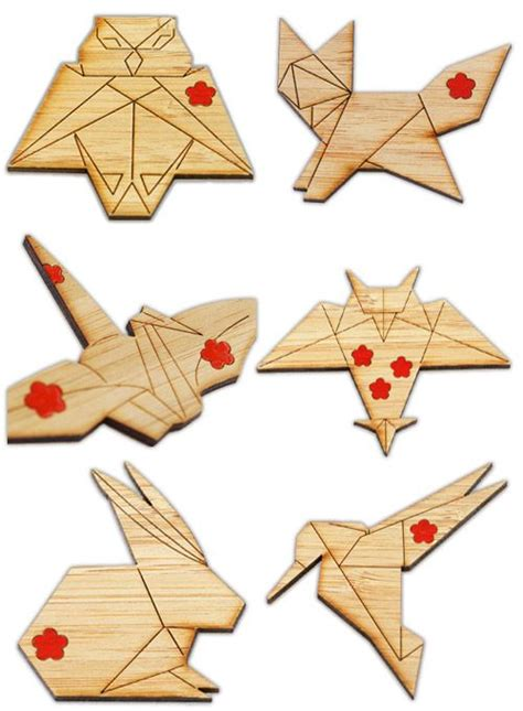 origami australian animals 17 best images about jewerly on brooches wood