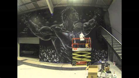 Paint Wall Murals arnold schwarzenegger aerosol mural time lapse melburn