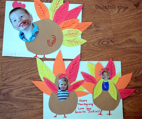 kid turkey crafts 5 easy turkey crafts for bless this mess